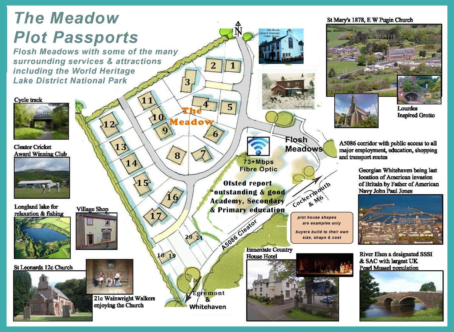 Flosh Meadows, cleator, self build serviced plots